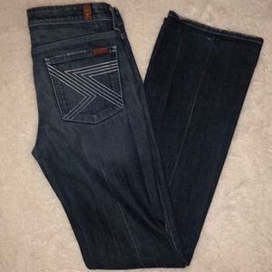 7 for all mankind Jeans Flynt Ombre Pocket 28 x 34